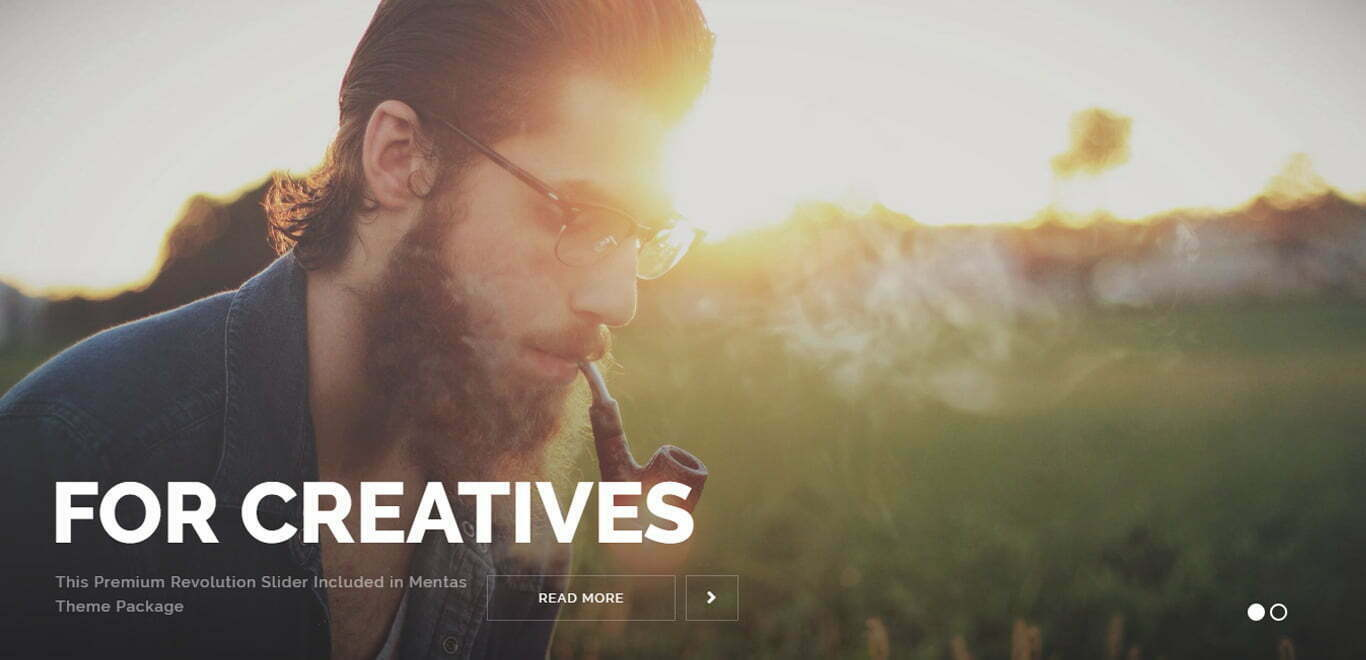 Art Portfolio wordpress theme