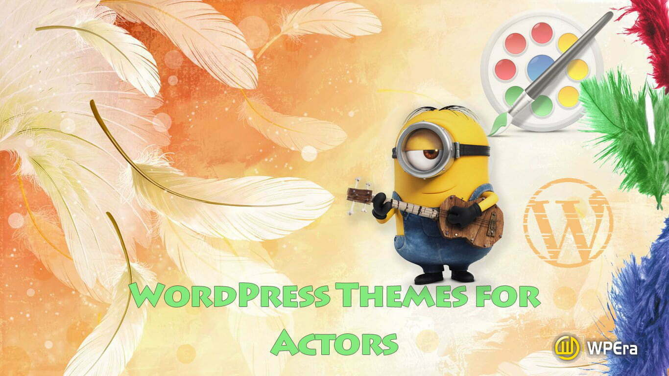 Best WordPress Themes for Actors and Actress