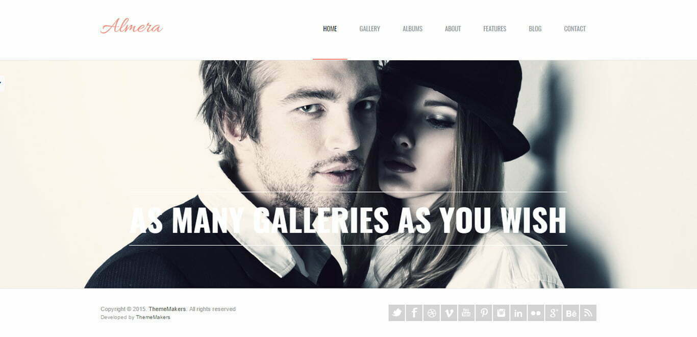almera wordpress theme