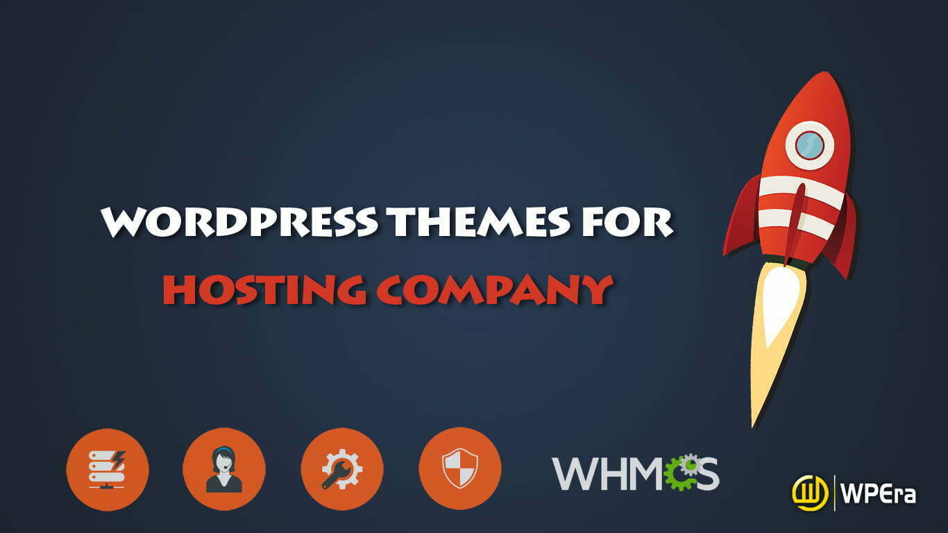 Best WordPress Theme for Web Hosting Company with WHMCS Integration